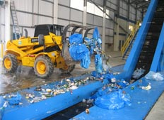 MRF recycling belt